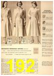 1949 Sears Spring Summer Catalog, Page 192