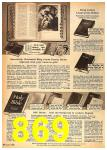 1962 Sears Fall Winter Catalog, Page 869