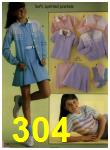 1984 Sears Spring Summer Catalog, Page 304