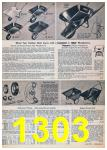 1957 Sears Spring Summer Catalog, Page 1303