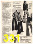 1973 Sears Fall Winter Catalog, Page 331