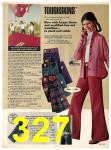 1973 Sears Fall Winter Catalog, Page 327