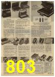 1965 Sears Spring Summer Catalog, Page 803