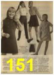 1968 Sears Fall Winter Catalog, Page 151