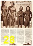 1940 Sears Fall Winter Catalog, Page 28