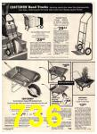 1974 Sears Spring Summer Catalog, Page 736