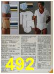 1985 Sears Spring Summer Catalog, Page 492