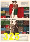 1962 Sears Fall Winter Catalog, Page 325