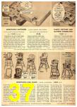 1949 Sears Spring Summer Catalog, Page 37