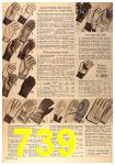 1963 Sears Fall Winter Catalog, Page 739