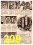 1952 Sears Christmas Book, Page 209