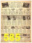 1940 Sears Fall Winter Catalog, Page 585