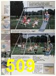 1986 Sears Spring Summer Catalog, Page 509