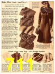 1940 Sears Fall Winter Catalog, Page 711