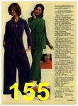 1972 Sears Fall Winter Catalog, Page 155