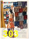 1960 Sears Fall Winter Catalog, Page 303