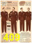 1940 Sears Fall Winter Catalog, Page 409