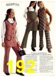 1971 Sears Fall Winter Catalog, Page 192