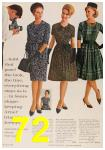 1963 Sears Fall Winter Catalog, Page 72