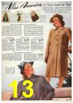 1940 Sears Fall Winter Catalog, Page 13