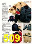 1982 Sears Fall Winter Catalog, Page 509