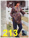 1991 Sears Fall Winter Catalog, Page 213