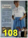 1984 Sears Spring Summer Catalog, Page 108