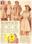 1942 Sears Spring Summer Catalog, Page 19