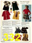 1969 Sears Fall Winter Catalog, Page 332