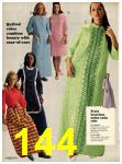 1973 Sears Fall Winter Catalog, Page 144