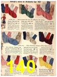 1942 Sears Spring Summer Catalog, Page 140