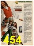 1972 Sears Fall Winter Catalog, Page 454