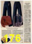 1980 Sears Fall Winter Catalog, Page 176