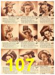 1942 Sears Spring Summer Catalog, Page 107