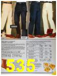 1986 Sears Fall Winter Catalog, Page 535