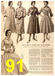1956 Sears Fall Winter Catalog, Page 91