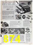 1967 Sears Fall Winter Catalog, Page 874