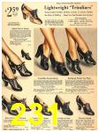 1940 Sears Fall Winter Catalog, Page 231