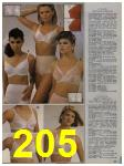 1984 Sears Spring Summer Catalog, Page 205