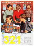 1967 Sears Fall Winter Catalog, Page 321