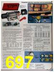 1986 Sears Fall Winter Catalog, Page 697