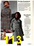 1974 Sears Fall Winter Catalog, Page 113