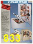 1986 Sears Spring Summer Catalog, Page 833