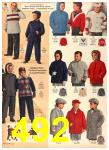 1958 Sears Fall Winter Catalog, Page 492