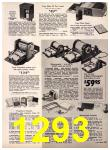 1972 Sears Fall Winter Catalog, Page 1293