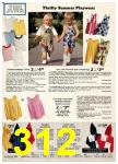 1974 Sears Spring Summer Catalog, Page 312
