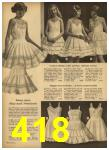 1962 Sears Spring Summer Catalog, Page 418