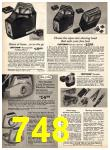 1969 Sears Fall Winter Catalog, Page 748