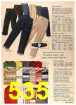 1964 Sears Spring Summer Catalog, Page 535