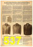 1958 Sears Spring Summer Catalog, Page 537